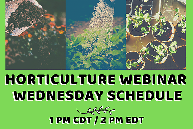 Horticulture Wednesday Logo